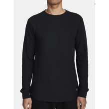 RVCA Day Shift Mens Black Thirmal Long Sleeve Shirt