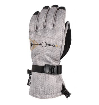 686 Paige Womens Grey Gloves