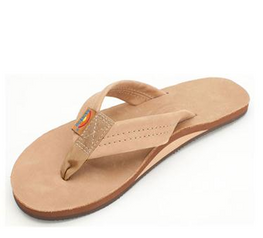 Rainbow Premier Leather Womens Sierra Brown Sandal