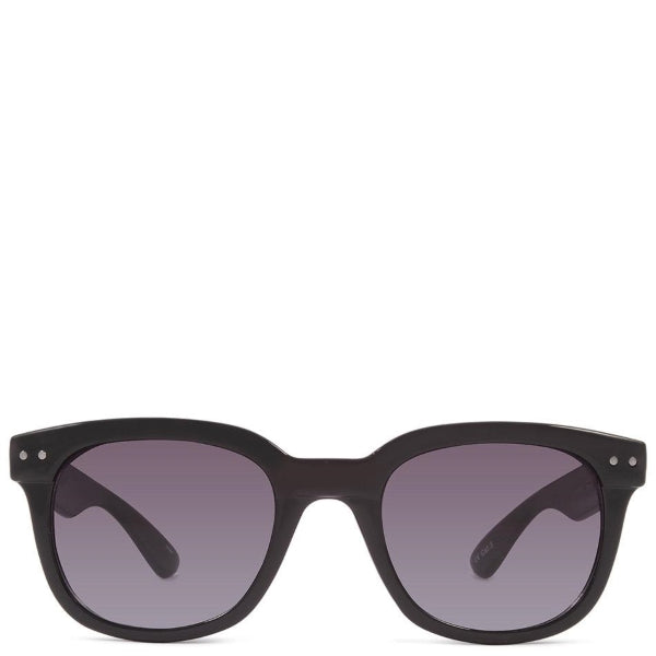 CrushEyes Astonished Womens Gloss Black Sunglasses