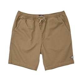 billabong boys khaki elastic short