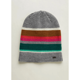 oneill womens stripe knit beanie
