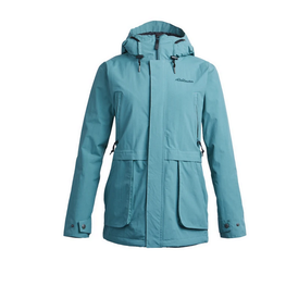 airblaster womens nicolette blue green snow jacket