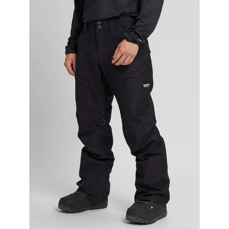 burton black gore-tex snow pants