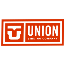 Union Logo Medium/Large Orange Sticker