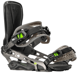 Rome Targa Mens Black Snowboard Bindings