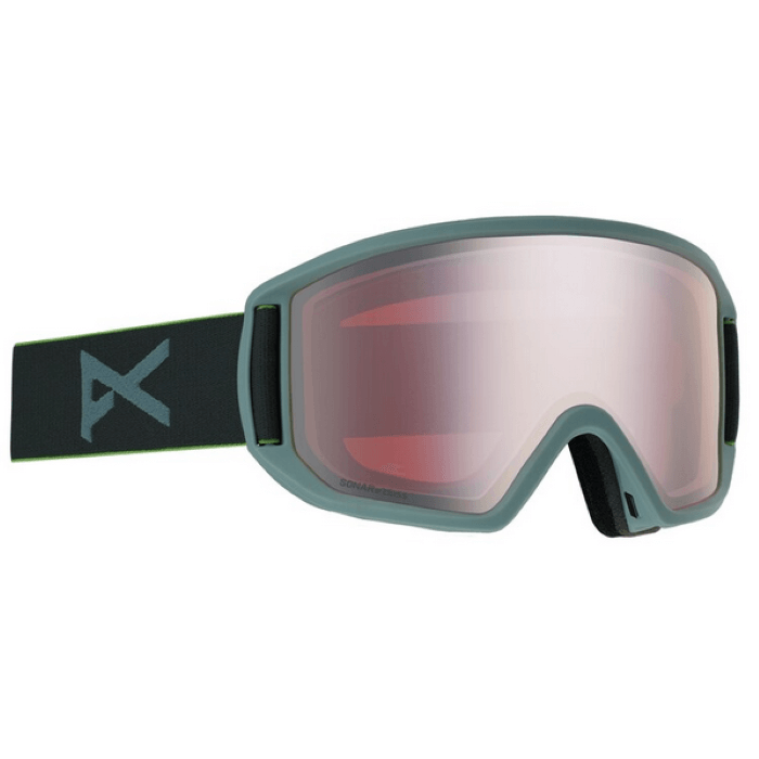 Anon Relapse Mens Grey Goggles With Spare Lens