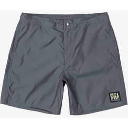 RVCA Hazed Elastic Mens Multicolor Iridescent Shorts