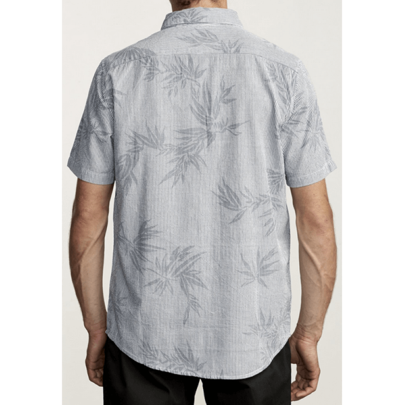 RVCA Richmond Mens White Button Up Shirt
