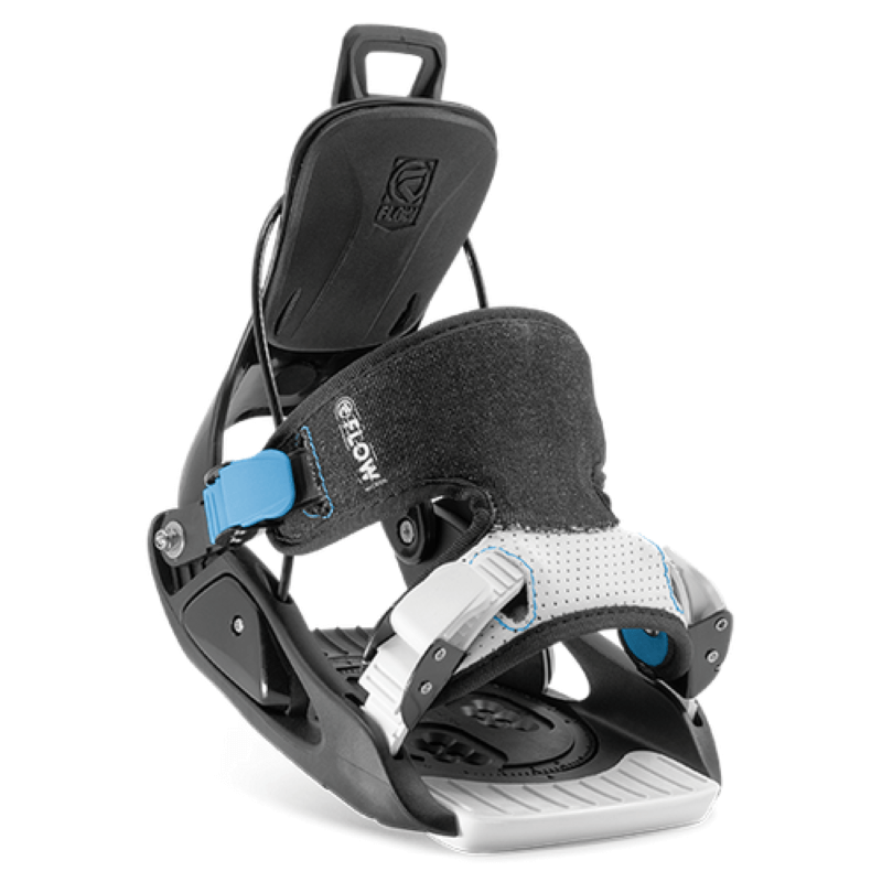 Flow Micron Kids Black Snowboard Bindings
