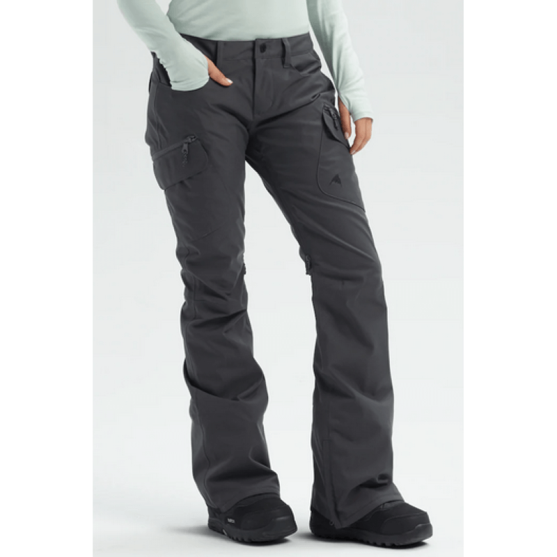 Burton Gloria Womens Grey Iron Snowboard Pants