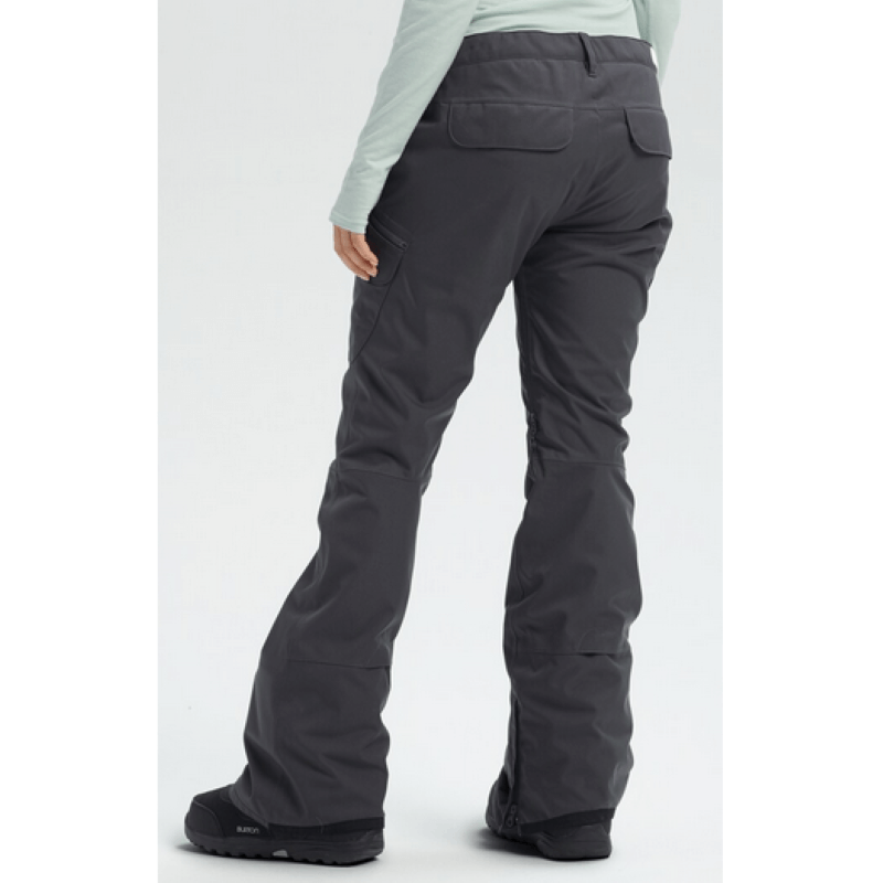 Burton Gloria Womens Grey Snowboard Pants