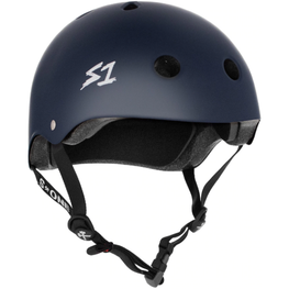 S One Mega Lifer Matte Navy Blue Skateboard Helmet