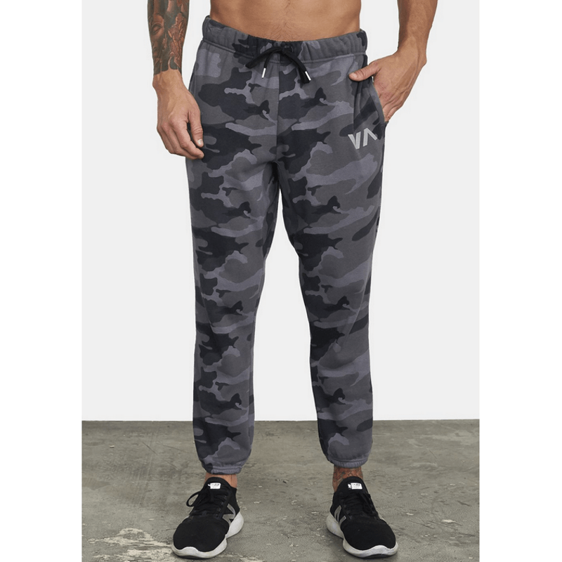 mens rvca camo sweatpants