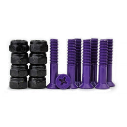"Prime 1"" Purple Skateboard Hardware"