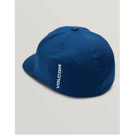 volcom kids hat bright blue xfit