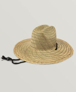Volcom Quarter Mens Natural Straw Hat