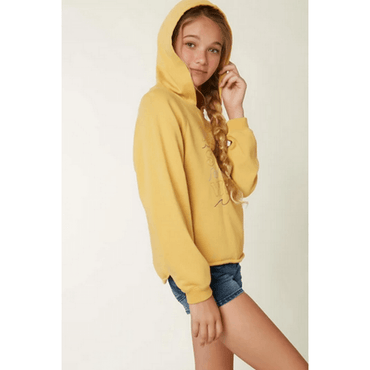 o,neill girls gold pullover fleece
