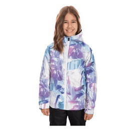 686 girls insulated print jacket
