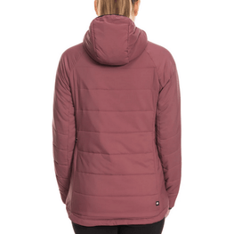 primaloft womens berry jacket