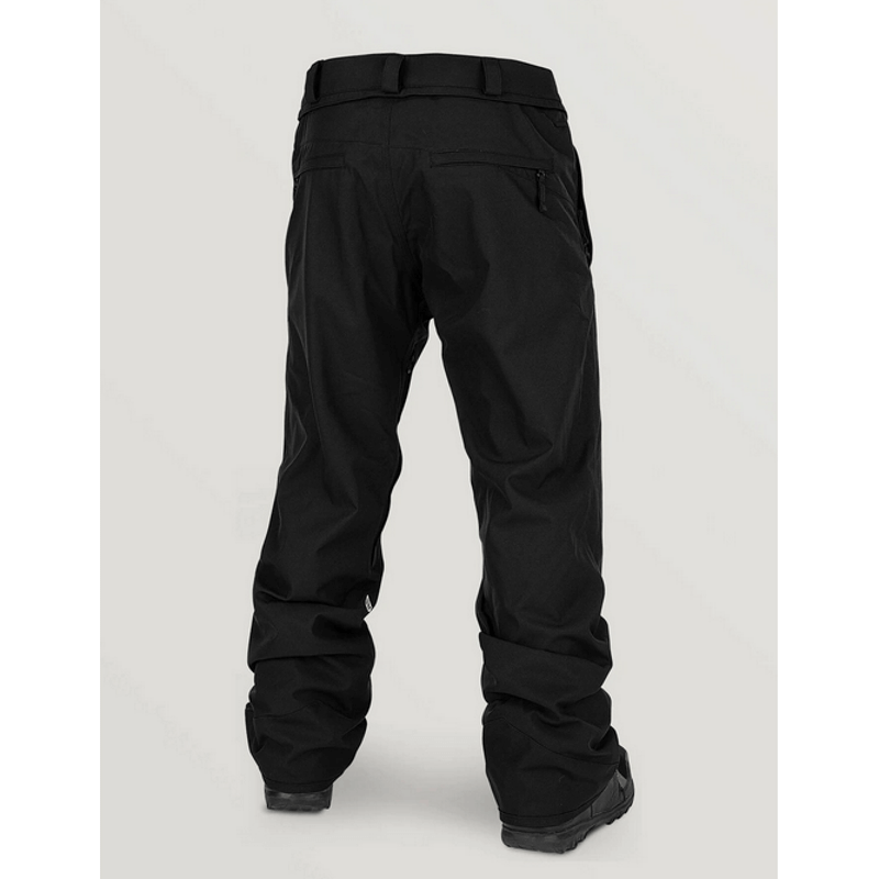 black mens snow pants volcom