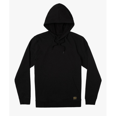 mens black rvca hooded sweatshirt