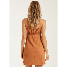 Billabong Flirt Much Womens Bronze Dress