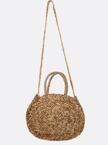 "Billabong ""Had Me At Aloha"" Womens Straw Tote Bag"