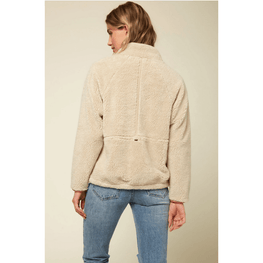 sherpa fleece o'neill womens fleece jacket