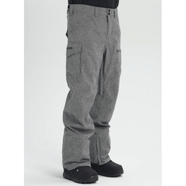 burton grey heather snowboard pants