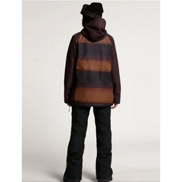 volcom womens stripe snow jacket