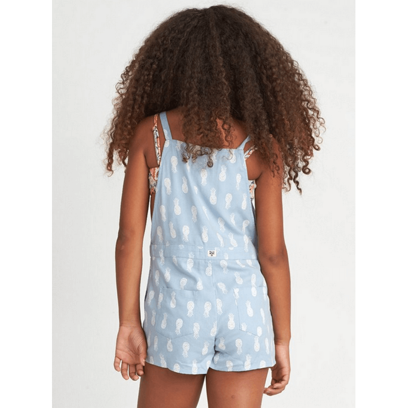 billabong girls short overall adjustable