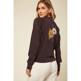 womens o'neill crew neck fleece