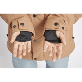 Lycra wrist gaiters airblaster womens work jacket adobe