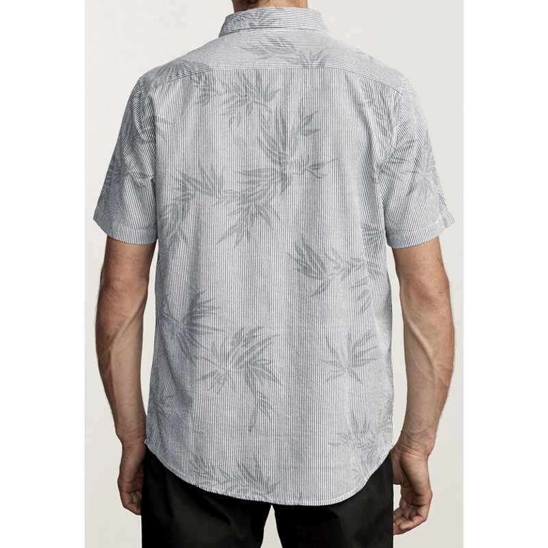 all over print shirt with collar rvca