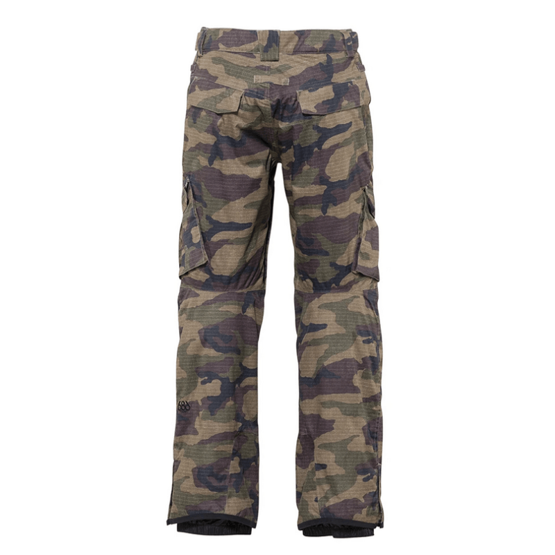 dark camo mens 686 insulated snow pants