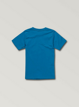 Volcom Dog Toddler Boys Bright Blue Tee Shirt