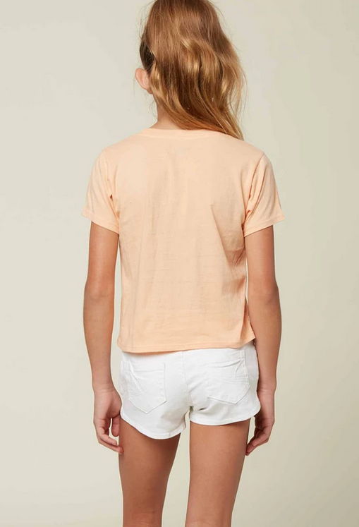 oneill girls soft tee