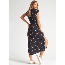 button down billabong dress
