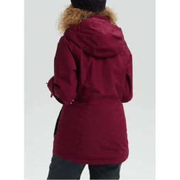 port womens burton jet set snow jacket