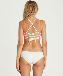Billabong Bright One Womens Seashell Hawaii Bikini Bottom