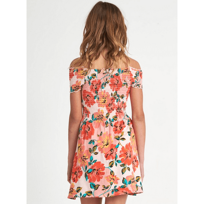Billabong Off Beach Girls Pink Haze Dress