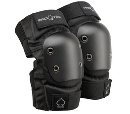 Protec Street Black Elbow Pads