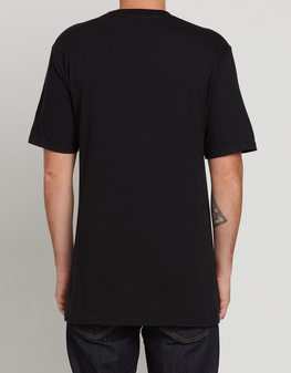 Volcom Mag Dye Kids Black Tee Shirt