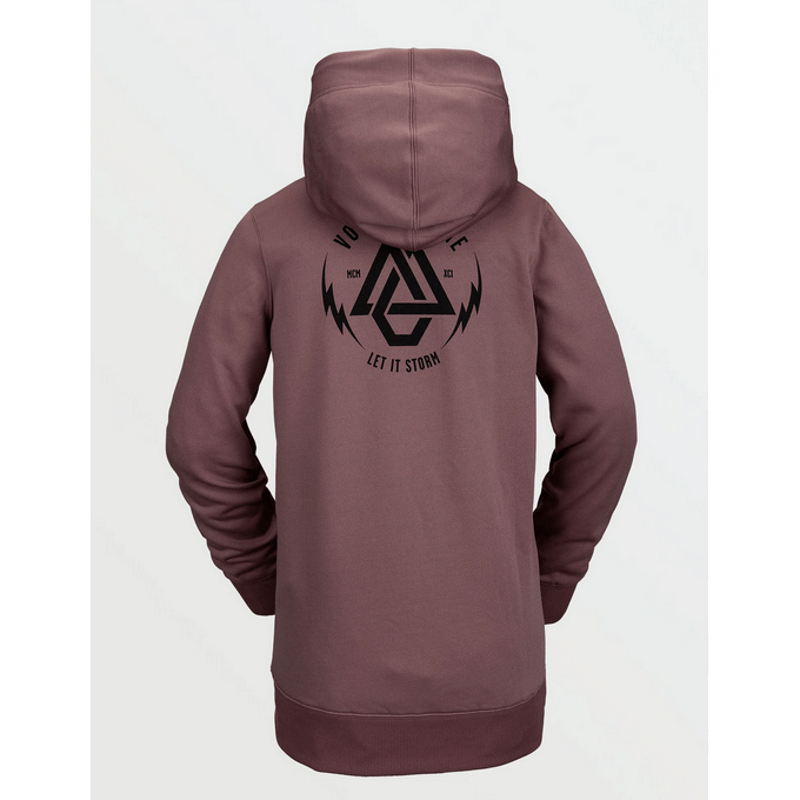 pull over sweatshirt hoody womens volcom rose