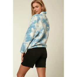 womens smoke blue o'neill fleece jacket
