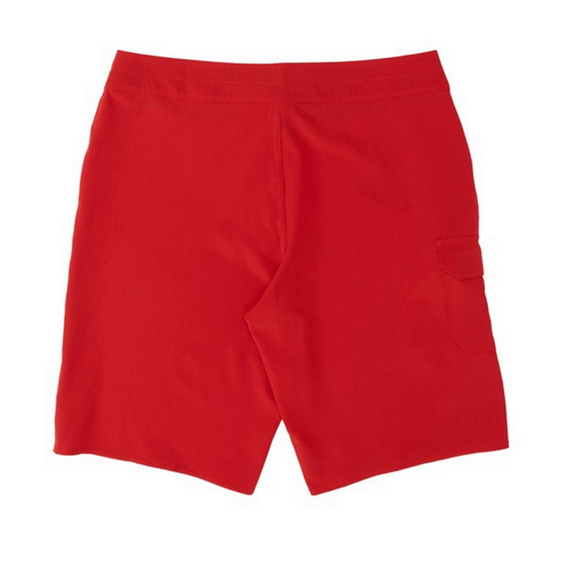 billabong red trunk