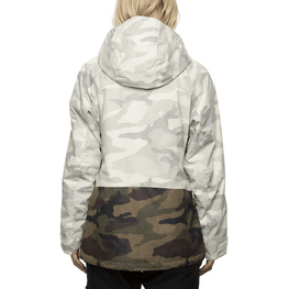 686 womens camo insulated snow jacket
