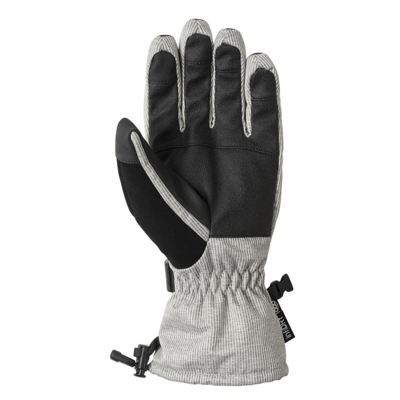 686 paige snow glove with leather pu palm
