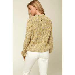 pull over womens yellow sweater o'neill